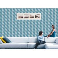 Buy cheap 3D Effect Geometric Contemporary Wall Covering , 0.53*10M / Roll , Non-Pasted from wholesalers
