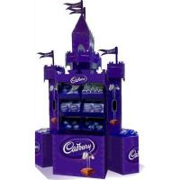 Buy cheap Cardboard Floor Display Stand Castle Display Stand For Chocolates from wholesalers