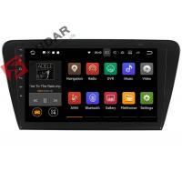 Buy cheap 10.1 Inch 1024*600 Android Car Navigation System Skoda Octavia Car Stereo product