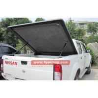 Buy cheap Customized Nissan Navara fiberglass Hard tonneau cover for truck bed protection from wholesalers