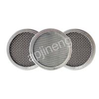 Buy cheap Stainless Steel Sintered 40 Micron Filter Mesh Disc 2.5 Cm-100 Cm Size from wholesalers