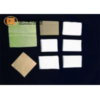 Buy cheap Logo printed super soft Microfiber eyeglasses cleaning cloth 15*15cm white color from wholesalers