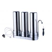 Buy cheap 3 Stage Filter Stainless Steel Water Filter For Home from wholesalers