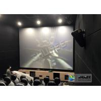 Buy cheap Unique Electric Motion 4D Cinema Seats With Curve And Ring Screen / 4D Movie Ride product