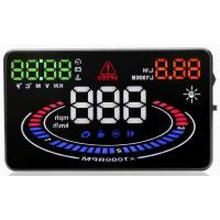 Buy cheap Ouchuangbo 5.5 HUD Car Head Up Display LED Windscreen Projector OBD2 Scanner Speed Warning from wholesalers