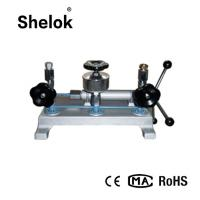 Buy cheap -0.082-6MPa,0-60MPa Water hydraulic pressure calibration machine dead weight tester product