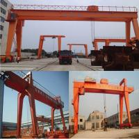 Buy cheap U type gantry crane, shipbuilding gantry crane, 10-75 - t electric double girder gantry crane - 30 m from wholesalers