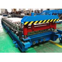 Buy cheap Color Steel Roofing Sheet Roll Forming Machine With Automatic Stacker from wholesalers