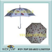 Buy cheap Aluminum Auto Straight Umbrella with Logo Printing(WT5038) from wholesalers