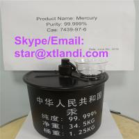Buy cheap china mercury price cas:7439-97-6 mercury supplier silver liquid mercury Email/Skype:star@xtlandi.com liquid mercury from wholesalers