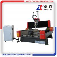 Buy cheap ZK-9015 Stone Engraving Machine for marble granite with air cylinder 900*1500mm product