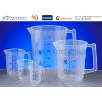 Buy cheap Custom Labware 500 ml , 150 ml PP Plastic Measuring Beakers , Cups for laboratory from wholesalers