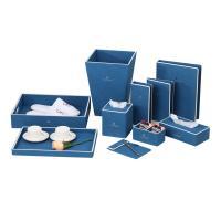 Buy cheap Factory OEM 5 star Hotel Room Custom Leather Accessories Set from wholesalers