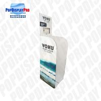 Buy cheap Single Wall 32 ECT B Flute Paper Retail Dump Bins Cardboard For Promoting FUJI Purified Water from wholesalers