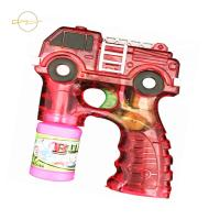 Buy cheap LED Kids Light Up Toys Bubble Gun Fire Truck Design For Outdoor Sand Beach from wholesalers