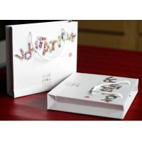Buy cheap Spot UV / Aqueous Coating Gold / Silver Stamping Printed Craft Paper Gift Bags ZY-GI01 from wholesalers