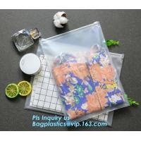 China pencil packing slider zipper pvc plastic bag, student/children traveling EVA bag, Cosmetic Pouch good quality with zippe on sale