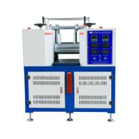Buy cheap 2.2KW Plastic Testing Machine / Two Roll Rubber Open Mixing Mill Machine from wholesalers
