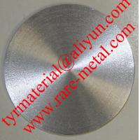 Buy cheap Tin (Sn) metal sputtering target, purity: 99.99%, 99.999%, CAS: 7440-31-5 from wholesalers