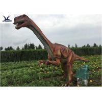 Buy cheap Outside Zoo Park Decorative Realistic Dinosaur Statues Water And Smoke Spraying from wholesalers