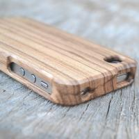 Buy cheap Zebra Waterproof Iphone 4 Wooden Cases ,Wood Skins For Iphone from wholesalers