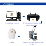 Buy cheap Cap Multifunction Heat Press Machine , Hat Heat Press Transfer Machine For Paper Printer from wholesalers