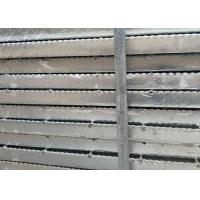 Buy cheap 19-W-2 Welding Serrated Steel Grating 1m * 6m Panels For Retail ISO from wholesalers