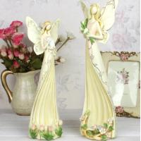 Buy cheap Angel polyresin candle holder wedding gifts from wholesalers