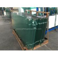 Horizontal Flat  Tempered Safety Glass Furniture Decorative Glass Panels