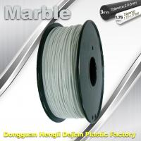Buy cheap 3mm 1.75mm 3D Printer Filament Flexible 3d Printing Filament Marble Filament product