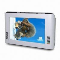 Buy cheap 7-inch TFT LCD Analog TV with Built-in Lithium Ion Rechargeable Battery from wholesalers