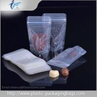 Buy cheap PET / PE Plastic Ziplock Bag Clear Nut Candy Cookie Package Dry Food Grade Bags from wholesalers