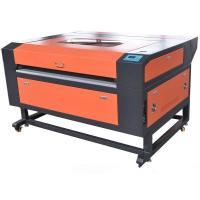 Buy cheap CO2 laser fabric cutting machine popular to decorate industry DW-1610 from wholesalers