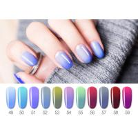 Buy cheap Healthy Resin Materials Color Changing Gel Polish / Uv Gel Nail Paint from wholesalers