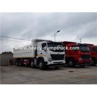 Buy cheap HOWO A7 8X4 12 Wheeler Heavy Duty Dump Truck With 30m³ Cubage Capacity For Mining product