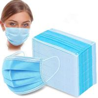 Buy cheap Anti Flu Disposable Face Mask 3 Layers Pp Non Woven Material For House Cleaning from wholesalers