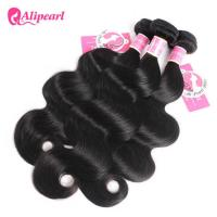 Buy cheap Malaysian Body Wave Hair Bundles , Natural 8A Malaysian Curly Hair Extensions from wholesalers