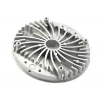 Buy cheap OEM Heat Sink Round Extruded Aluminum Casting Components Thermal Cover from wholesalers