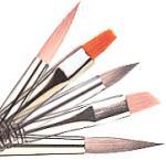 Buy cheap New nail art brush set, best oil painting brush,12pcs per set bristle brush from wholesalers