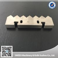 Buy cheap Vecoplan 70 Single Shaft Shredder Machine Blades Counter Knife HRC 56-58 from wholesalers