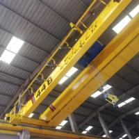 Buy cheap 10T Workshop Double Girder Eot Crane , Travelling Bridge Crane With LED Load Displayer from wholesalers