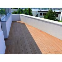 Buy cheap Anti - UV / Anti - Slip Brown WPC Deck Flooring For Balcony And Decoration from wholesalers