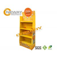 Buy cheap Light Duty Paper Shelf Pop Cardboard Display For Products Promotion from wholesalers