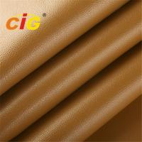Buy cheap Smooth PVC Artificial Leather TC Backing , PVC Leather Sheet Anti - Mildew product