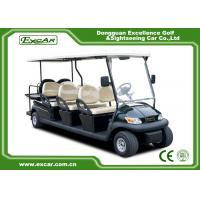 Buy cheap Custom 2 Seater Electric Golf Carts 48v Trojan Battery / Electric Sightseeing Car from wholesalers