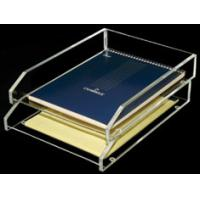 Buy cheap Acrylic Stationery Holder book Display with 2 tier 8 * 15 * 25cm product