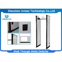 Buy cheap Professional Door Frame Metal Detector Equipment High Density Fireproof Material from wholesalers