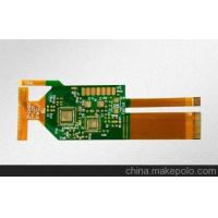 Buy cheap Flexible 2 Layer PCB Design Immersion Gold Surface Finish With Rigid Board Connected from wholesalers
