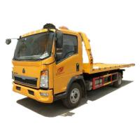 Buy cheap HOWO 4x2 Flat Bed Wrecker Towing Truck Euro 2 / Recovery Vehicle from wholesalers
