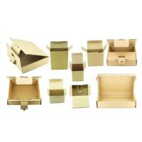 Buy cheap Foldable Recycled Cardboard Packaging Boxes With Lids Full Color Printing from wholesalers